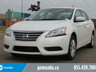 Used 2014 Nissan Sentra S POWER OPTIONS A/C for sale in Edmonton, AB