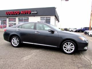 Used 2010 Lexus ES 350 ULTRA PREMIUM NAVIGATION CAMERA CERTIFIED 2YR WAR for sale in Milton, ON