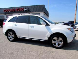 Used 2008 Acura MDX Elite Package Navigation Camera DVD PKG Sunroof for sale in Milton, ON