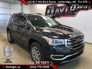 New 2018 GMC Acadia SLE-2-6 Passenger, Heated Seats, Trailering Package for sale in Lethbridge, AB