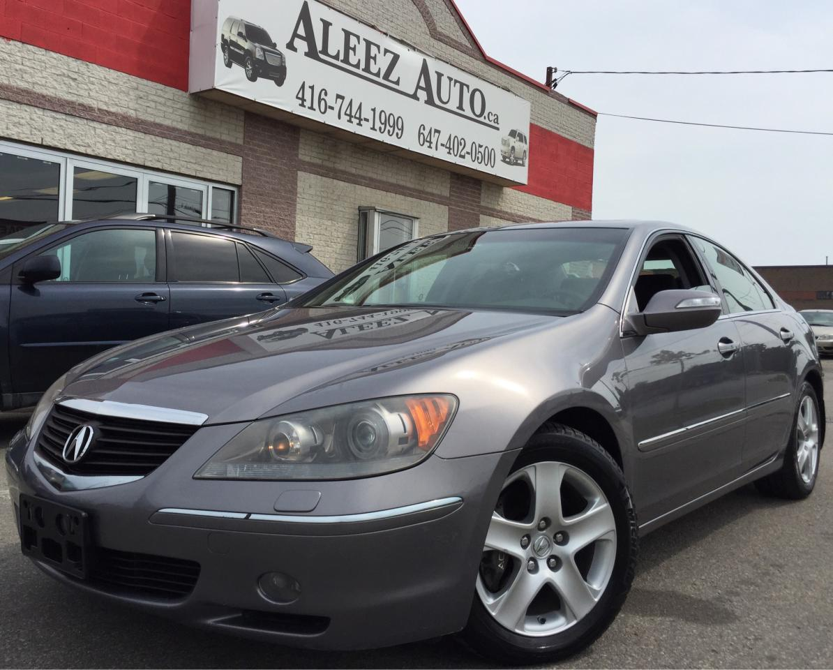 used 2006 acura rl awd gps clean car proof alloy rare for sale in north york ontario. Black Bedroom Furniture Sets. Home Design Ideas
