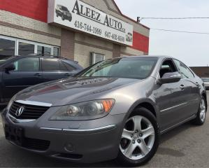 Used 2006 Acura RL AWD, GPS Clean car proof. Alloy, Rare for sale in North York, ON