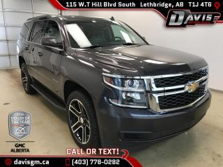 Used 2015 Chevrolet Tahoe LT-4WD, 8 Passenger, Leather, Rear Vision Camera for sale in Lethbridge, AB