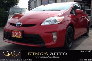 Used 2013 Toyota Prius HYBRID, BACK-UP CAM, ALLOY RIMS, CVT for sale in Scarborough, ON