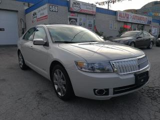 Used 2007 Lincoln MKZ LEATHER_SUNROOF_PARKING SENSORS for sale in Oakville, ON