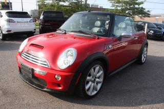 Used 2006 MINI Cooper Convertible S LOW KMS 1 OWNER for sale in North York, ON