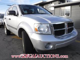 Used 2008 Dodge DURANGO SLT 4D UTILITY 4WD 4.7L for sale in Calgary, AB