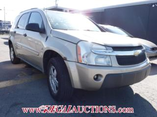 Used 2005 Chevrolet EQUINOX LS 4D UTILITY AWD for sale in Calgary, AB