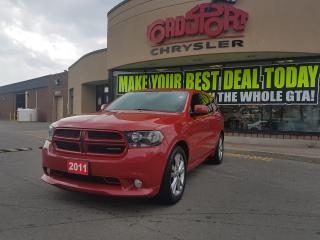 Used 2011 Dodge Durango Heat P-ROOF, REAR CAMERA, ALPINE SOUND 20 INCH WLS for sale in Scarborough, ON