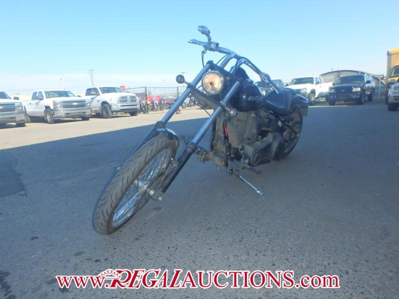 Photo of Black 2008 Harley Davidson FXSTB NIGHT TRAIN  CRUISER