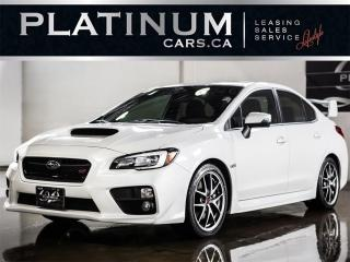 Used 2016 Subaru WRX STI Limited, NAVI, C for sale in North York, ON