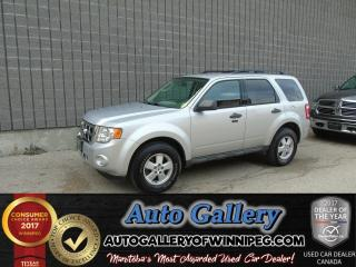 Used 2010 Ford Escape XLT 4x4 *Low Price! for sale in Winnipeg, MB
