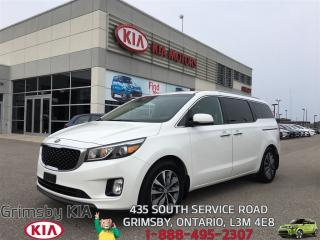 Used 2016 Kia Sedona SX for sale in Grimsby, ON