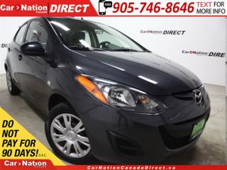 Used 2014 Mazda MAZDA2 GX| WE WANT YOUR TRADE| OPEN SUNDAYS| for sale in Burlington, ON