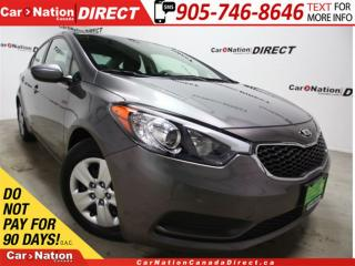 Used 2016 Kia Forte 1.8L LX| WE WANT YOUR TRADE| OPEN SUNDAYS| for sale in Burlington, ON