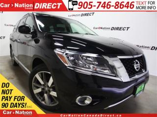 Used 2014 Nissan Pathfinder Platinum| 4X4| DVD| DUAL SUNROOF| NAVI| for sale in Burlington, ON
