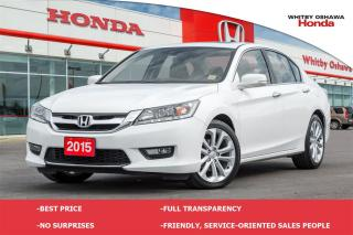 Used 2015 Honda Accord Touring V6 for sale in Whitby, ON