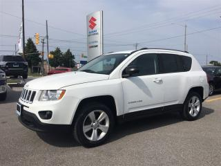Used 2011 Jeep Compass North Edition 4X4 ~Fuel Economy ~Affordable for sale in Barrie, ON