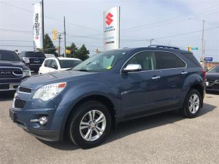 Used 2012 Chevrolet Equinox LTZ ~RearView Camera ~Power/Heated Leather for sale in Barrie, ON