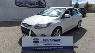 Used 2014 Ford Focus Titanium 2.0l 160Hp, Leather, Moon, Navi for sale in Stratford, ON