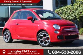 Used 2016 Fiat 500 Sport NO ACCIDENTS for sale in Surrey, BC