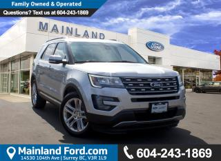 Used 2017 Ford Explorer Limited LOW KMS, NO ACCIDENTS, LOCAL for sale in Surrey, BC