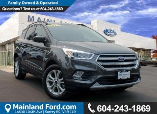 Used 2017 Ford Escape SE LOCAL, NO ACCIDENTS for sale in Surrey, BC