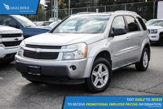 Used 2005 Chevrolet Equinox LT Sunroof and Air Conditioning for sale in Port Coquitlam, BC
