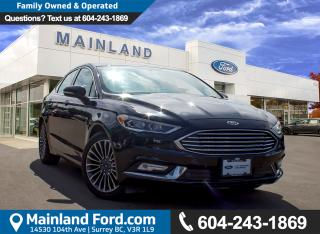 Used 2017 Ford Fusion Titanium LOW KMS, NO ACCIDENTS, LOCAL for sale in Surrey, BC