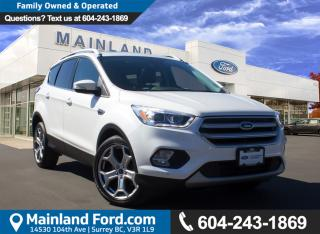Used 2017 Ford Escape Titanium LOW KMS, NO ACCIDENTS, LOCAL for sale in Surrey, BC