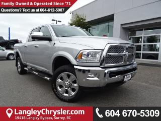 Used 2016 Dodge Ram 3500 Laramie *ACCIDENT FREE * LOCAL BC TRUCK * for sale in Surrey, BC