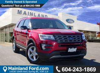 Used 2016 Ford Explorer XLT LOCAL for sale in Surrey, BC
