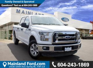 Used 2016 Ford F-150 XLT LOCAL, LOW KMS for sale in Surrey, BC
