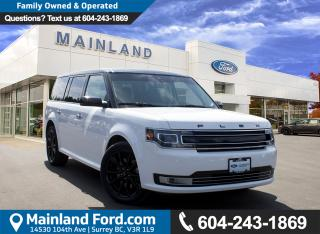 Used 2016 Ford Flex Limited LOW KMS, LOCAL, NO ACCIDENTS for sale in Surrey, BC