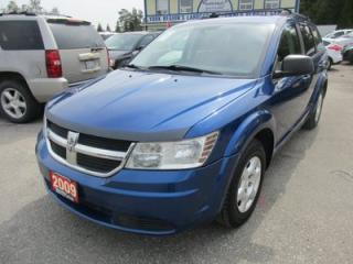 Used 2009 Dodge Journey POWER EQUIPPED SE MODEL 5 PASSENGER 2.4L - DOHC.. CD/AUX INPUT.. U-CONNECT SYSTEM.. KEYLESS ENTRY.. for sale in Bradford, ON