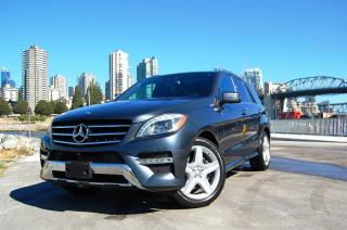 Used 2014 Mercedes-Benz ML 350 BlueTEC 4MATIC for sale in Vancouver, BC
