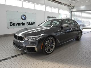 New 2018 BMW M550i xDrive Sedan for sale in Edmonton, AB