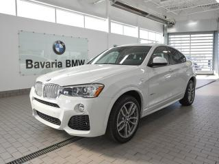 New 2018 BMW X4 xDrive28i for sale in Edmonton, AB