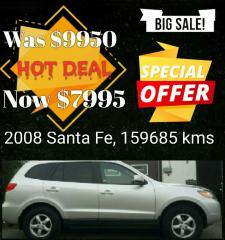 Used 2008 Hyundai Santa Fe GL 5-Pass for sale in Kingston, ON