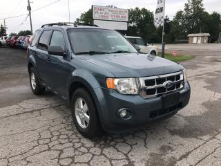 Used 2011 Ford Escape XLT for sale in Komoka, ON