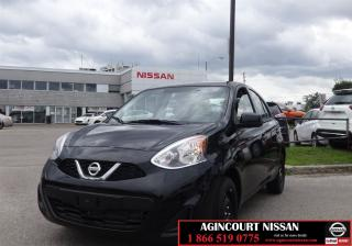 Used 2017 Nissan Micra SV  Non Rental Low Mileage  for sale in Scarborough, ON