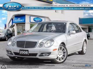 Used 2008 Mercedes-Benz E550 5.5L for sale in Brantford, ON