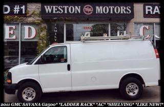 Used 2011 GMC Savana G2500*ROOF RACKS*A/C*CLEAN CARPROOF* for sale in York, ON