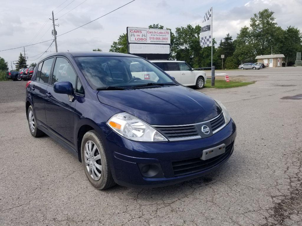 used 2007 nissan versa 1 8 s for sale in komoka ontario. Black Bedroom Furniture Sets. Home Design Ideas