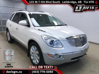 Used 2012 Buick Enclave CXL-2-7 Passenger, Heated/Cooled Leather, Skyscape Sunroof for sale in Lethbridge, AB