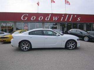 Used 2015 Dodge Charger R/T! CLEAN CARPROOF! NAVIGATION! SUNROOF! for sale in Aylmer, ON