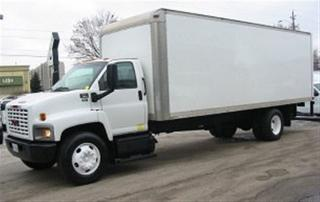 Used 2007 GMC C7500 Diesel with 24 ft box plus power lift gate for sale in Richmond Hill, ON