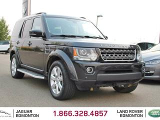 Used 2015 Land Rover LR4 HSE - CPO 6yr/160000kms manufacturer warranty included until November 26, 2021! CPO rates starting at 2.9%! Local Alberta Trade In | No Accidents | 2 Sets of Tires Included | 3M Protection Applied | 7 Seats | Navigation | Surround Camera System | Parking  for sale in Edmonton, AB