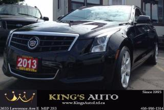 Used 2013 Cadillac ATS AWD, TURBO 2.0L, LUXURY, PERFORMANCE, LEATHER for sale in Scarborough, ON