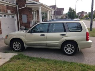 Used 2005 Subaru Forester Leather for sale in Cambridge, ON